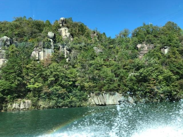 船 恵那峡 遊覧 恵那峡 観光スポット ぎふの旅ガイド